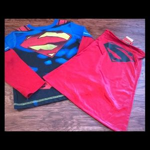 Other - Boy's Superman top and cape